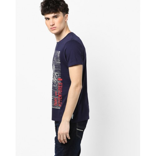 WRANGLER Graphic Print Crew-Neck T-shirt