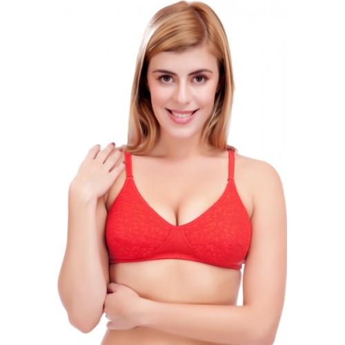 Selfcare Women's T-Shirt Lightly Padded Bra