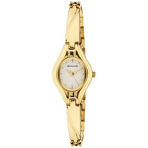 Sonata Analog White Dial Watch - NF8951YM01