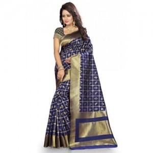 Kala Laya Navy Kanjivaram Silk Saree