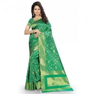 Kala Laya Green Kanjivaram Silk Saree