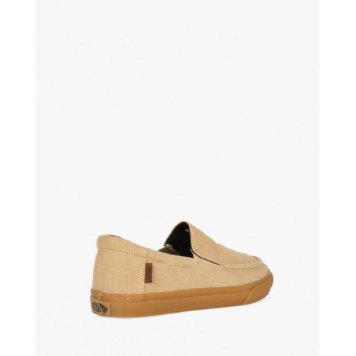 Vans Beige Slip-On Casual Shoes