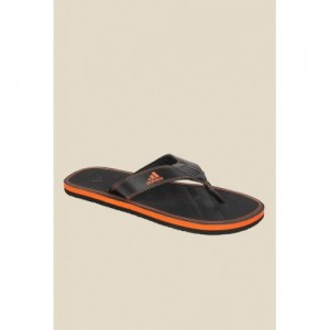 Buy Sparx Brown   White Rubber Hawaii House Slippers online ... 9b6cb1d68
