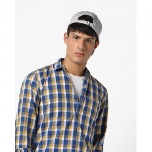 WRANGLER Warner Checked Shirt with Patch Pocket