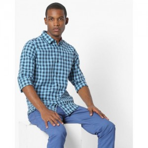 UNITED COLORS OF BENETTON Checked Slim Fit Shirt
