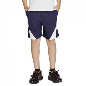 Clifton Navy Blue Boy's Shorts - Navy White