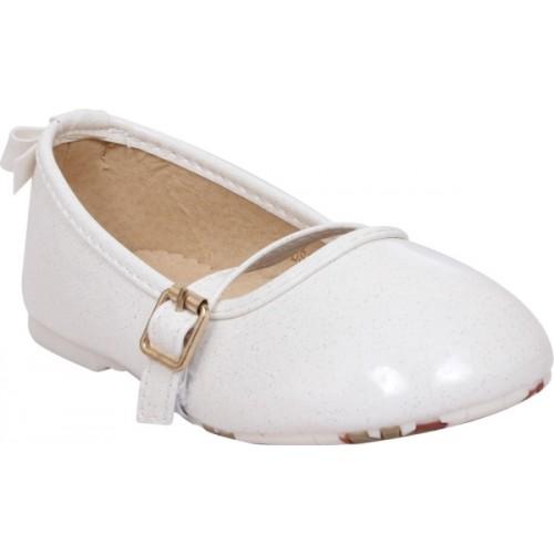 Doink Girls White Slip-on Mule(Slip ons)