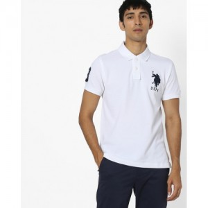 US POLO Pure Cotton Polo T-shirt