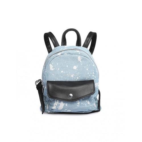 284b999aa7 Buy Aeropostale Blue Acid Wash Mini Backpack online | Looksgud.in