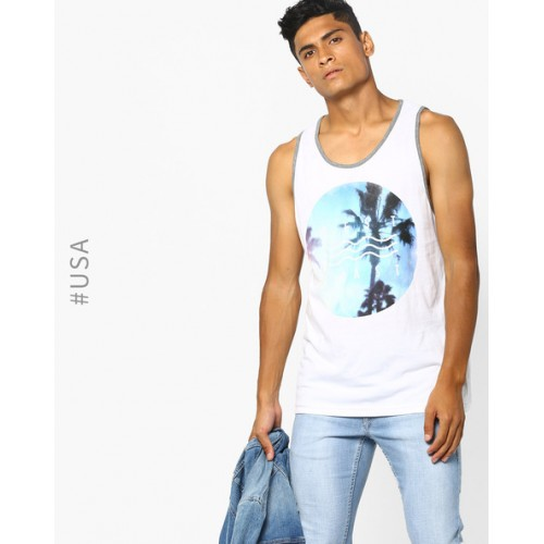 9f68d145 Buy Aeropostale Tropical Print Sleeveless T-shirt online | Looksgud.in