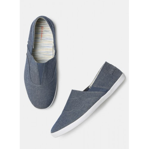 Mast & Harbour Blue Loafers