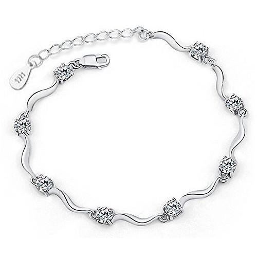 Yellow Chimes Silver Bracelet for Women