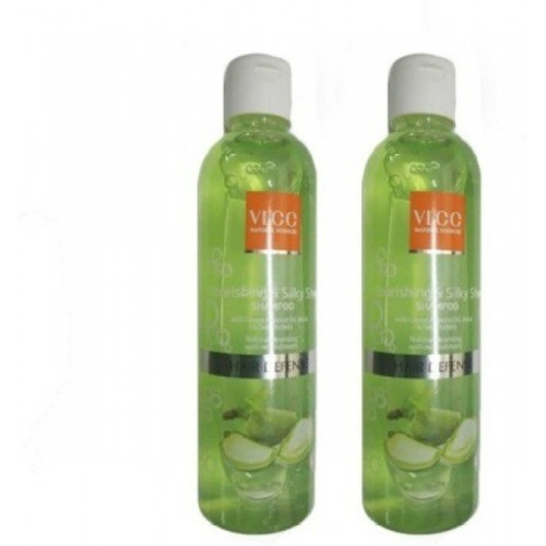 VLCC Nourishing & Silky Shine Shampoo 350ml (pack of 2)