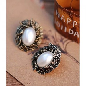 Cinderella Collection By Shining Diva Metal Stud Earring