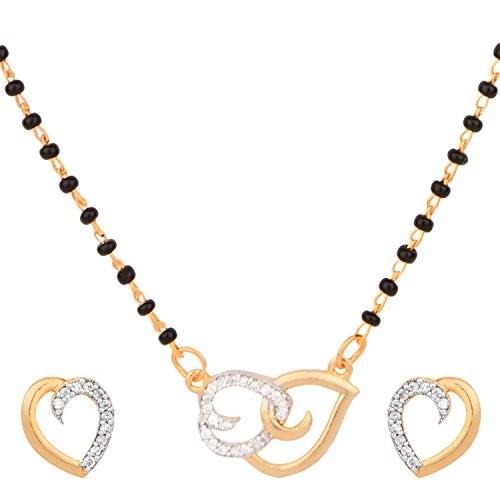 Buy Cardinal American Diamond Fashion Jewellerry Heart Shape