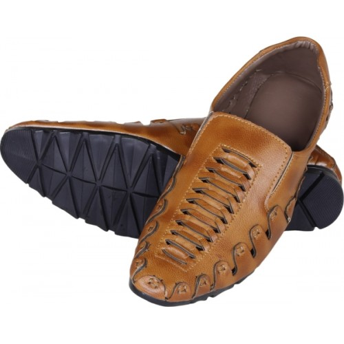 Emosis Ethnic Brown Look Casuals For Men