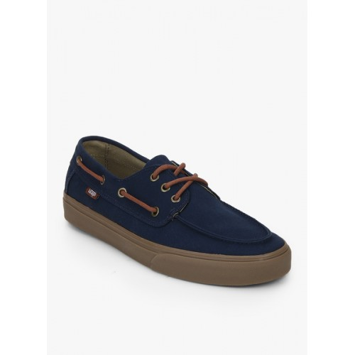 8045e547e71 Buy Vans Chauffeur Sf Navy Blue Boat Shoes online