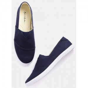 Mast & Harbour Navy Blue Loafers