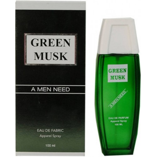Ramco Green Musk Fabric Apparel Spray Eau de Cologne  -  125 ml
