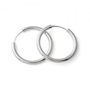 ELOISH Pure Sterling Silver Bali Hoop Earrings For Women