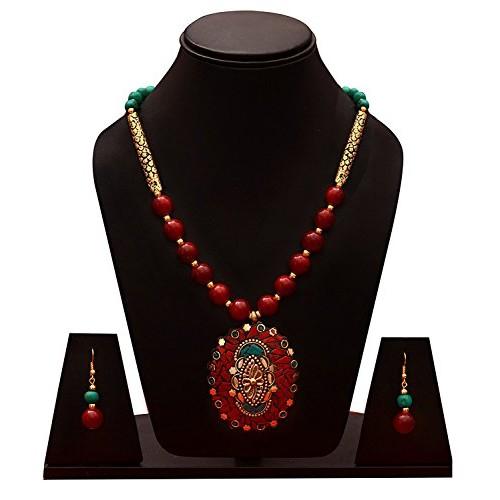 Sitashi Fashion Jewellery Rajasthani Design Necklace Set