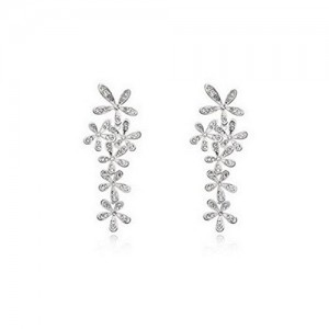 Trendy Lions Silver plated Drop Earrings for Women