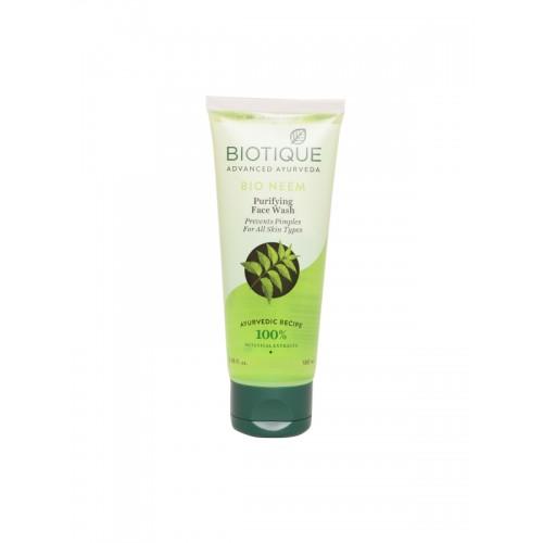 Biotique Advanced Ayurveda Unisex Bio Neem Purifying Face Wash 100 ml