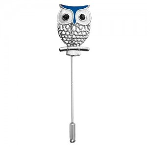 B-Fashionable Owl Lapel Pin