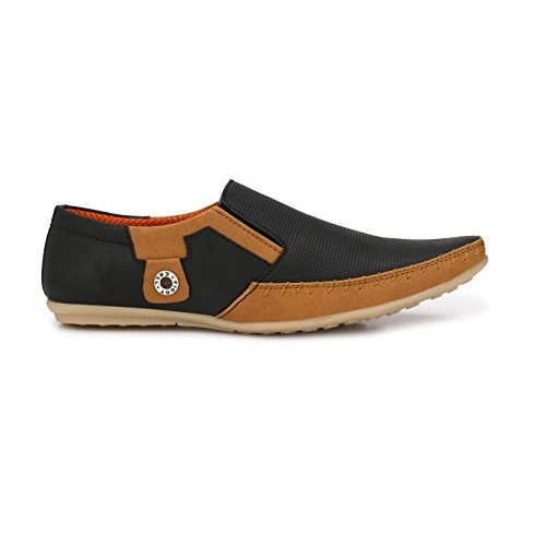 Shoes Bank Black Men's Outdoor Casual Shoes