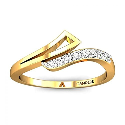Buy Candere By Kalyan Jewellers 18KT Yellow Gold and Diamond