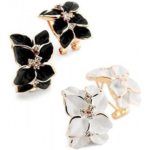 You Bella Stylish Fancy Party Wear Jewellery Alloy Stud Earring