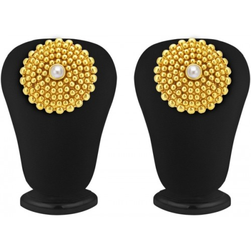 Sukkhi Dazzling Gold Plated Alloy Stud Earring