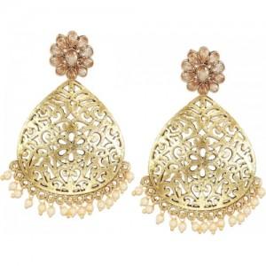 Zaveri Pearls Intriguing Zinc Dangle Earring