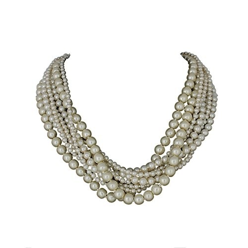 DCA White Pearl Women Necklace (4237)