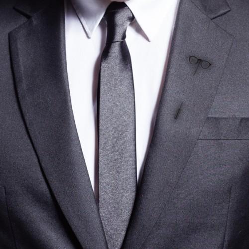 Shining Jewel Stylish Mens Blazers Tuxedo Sunglass Lapel-pin Brooch Badge Brooch
