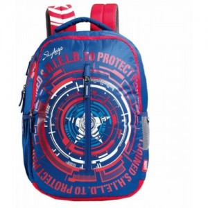 Skybags Sb Marvel Cap-Am 32 L Backpack