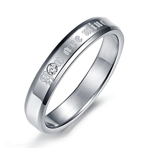 Aaishwarya Stainless Steel Silver Band Ring For Women