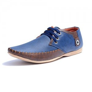 SGTS Blue Synthetic Casual Shoes