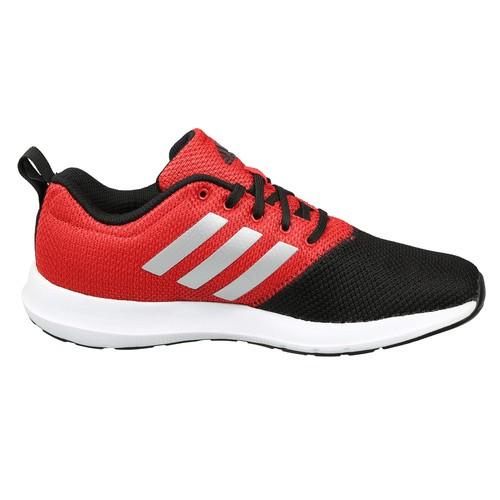 Adidas Boys Red & Black Colourblocked RAZEN Running Shoes