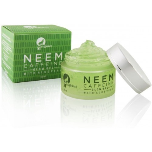 Mcaffeine Neem Caffeine Glow Gel 50 Ml With Aloe Vera
