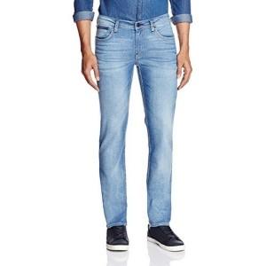 Lee Men's Lowbruce Slim Fit  Blue Jeans