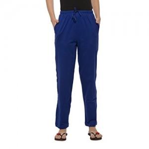 Clifton Womens Blue Solid Pyjama