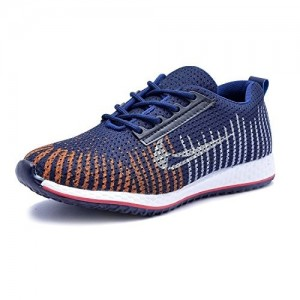 T-Rock Vision Blue Canvas Running Stylish Sports Shoes