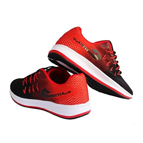 581c24916b470 Buy Max Air Sports Running Shoes 8852 Black Red online