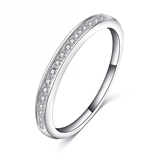 Jewels Galaxy Platinum Plated Ring For Women