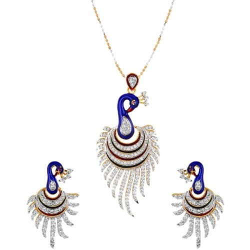YouBella Multicolor Alloy Pendant Set