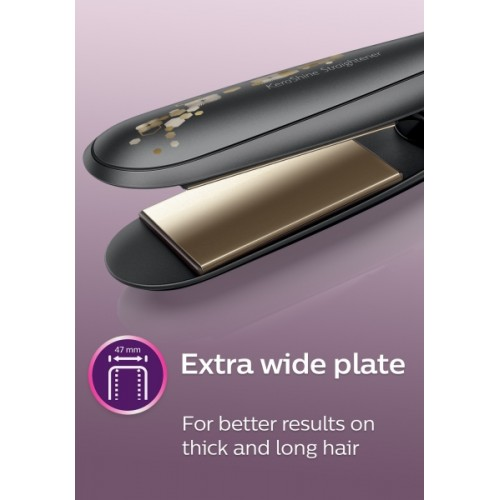 Philips KeraShine Black HP8316 Hair Straightener