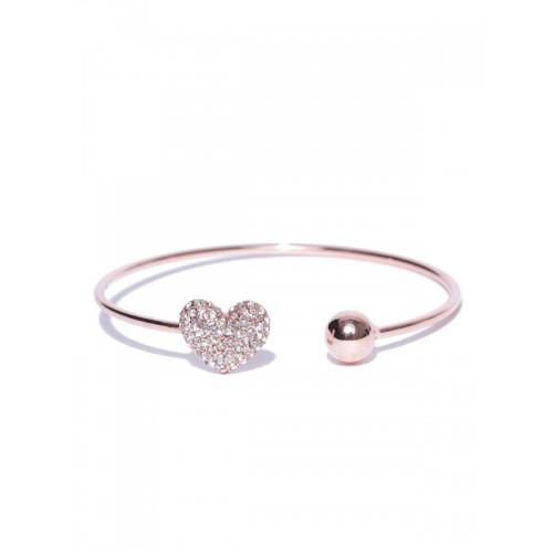Jewels Galaxy Rose Gold Brass Bracelet