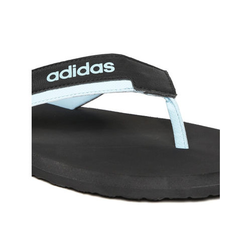 Adidas Men Black TOESIDE Solid Thong Flip-Flops