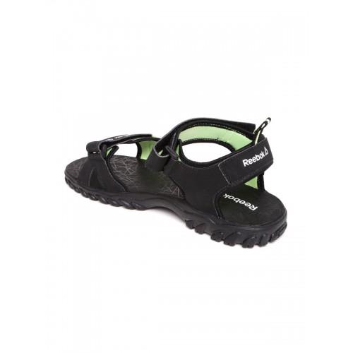 e531a03e5c6 Buy Reebok Men Black AZTRIX LP Sports Sandals online